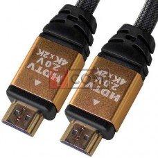 Шнур HDMI TCOM, штекер - штекер, version 2.0, gold, 5метров, в блистере