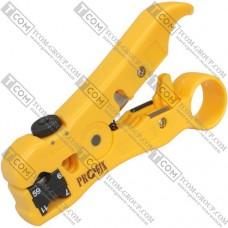 Инструмент Profix HS-352 для зачистки коаксиального кабеля RG-59,6,7,11