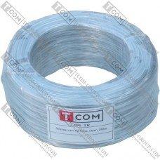 Упаковочная проволока в ПВХ изоляции TCOM, прозрачная, бухта 250м