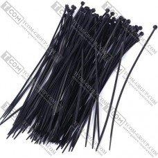 Стяжки 250х3.6мм CHS, чёрные, упак.-100 шт