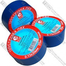 Синяя изолента EMT (0,13х30мм) 25метров