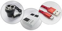 Обновление ассортимента — шнуры, сетевые зарядки, инструмент, коаксиальный кабель и кабель UTP, FTP