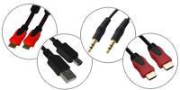 Расширение ассортимента шнуров — HDMI,  AUX и сетевых